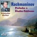 ラフマニノフ/絵画的練習曲集「音の絵」より(9曲)、前奏曲集より(13曲)