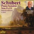 シューベルト/ピアノ・ソナタ第9番,第11番、楽興の時から