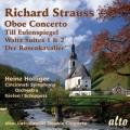 R・シュトラウス/オーボエ協奏曲、ルトスワフスキ/オーボエ、ハープと室内管弦楽のための二重協奏曲、ほか