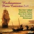 ラフマニノフ/ピアノ協奏曲第2番,同第4番