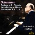 シューマン/幻想曲、序奏とアレグロ・アパッショナート、トッカータ、8つのノヴェレッテより