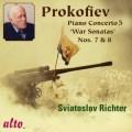 プロコフィエフ/ピアノ協奏曲第5番、ピアノ・ソナタ第7番、第8番、束の間の幻影より