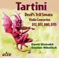 タルティーニ/ヴァイオリン協奏曲集、ソナタ「悪魔のトリル」