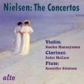 ニールセン/ヴァイオリン協奏曲、クラリネット協奏曲、フルート協奏曲