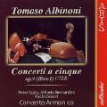 アルビノーニ/5声の協奏曲集 Op.9(第1巻)