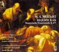 モーツァルト/レクィエム、フリーメーソンのための葬送音楽【SACD】