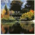 レーガー/無伴奏ヴィオラ組曲、ヴィオラ・ソナタ、ロマンス