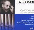 トン・コープマンのオルガン&チェンバロ作品集(5CD)