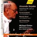 スクリャービン/交響曲第3番「神聖な詩」、ブゾーニ、ラヴェル、ストラヴィンスキー