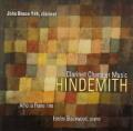 ヒンデミット/クラリネットを含む室内楽作品集