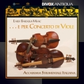 「ヴィオール・コンソートのための・・・」~カベソン、グアーミ、トラバーチ、他/室内楽作品集
