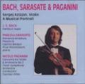 J・S・バッハ/無伴奏ヴァイオリン・パルティータ第3番、パガニーニ/ヴァイオリン協奏曲第2番、ほか