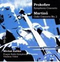 プロコフィエフ/チェロと管弦楽のための交響的協奏曲、マルティヌー/チェロ協奏曲第2番