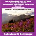 ドヴォルザーク/交響曲第9番「新世界より」、メンデルスゾーン/交響曲第3番「スコットランド」(ピアノ連弾版)