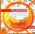 テレマン/様々な楽器のための協奏曲集