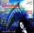 無伴奏ヴァイオリンのためのシャコンヌ集~ヴィヌーリ、ヘンデル、バッハ、バルトークほか