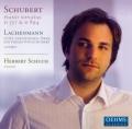 シューベルト/ピアノ・ソナタ第4番、第18番、ラッヘンマン/ピアノ作品