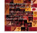 「フランスのホルン四重奏曲集」~デュボワ、フランセ、ボザ、パスカル、ほか