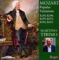 モーツァルト/ピアノのための変奏曲集