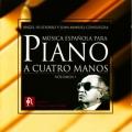 ピアノ4手連弾のためのスペイン音楽~ファリャ、ロドリーゴ、グラナドスほか