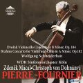 ドヴォルザーク/チェロ協奏曲、ブラームス/ヴァイオリンとチェロのための二重協奏曲