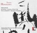 細川俊夫(1955-)/クラリネット、弦楽合奏と打楽器のための変容、ハープ協奏曲、遠景�