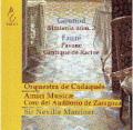 グノー/交響曲第2番、フォーレ/パヴァーヌ、ラシーヌ讃歌