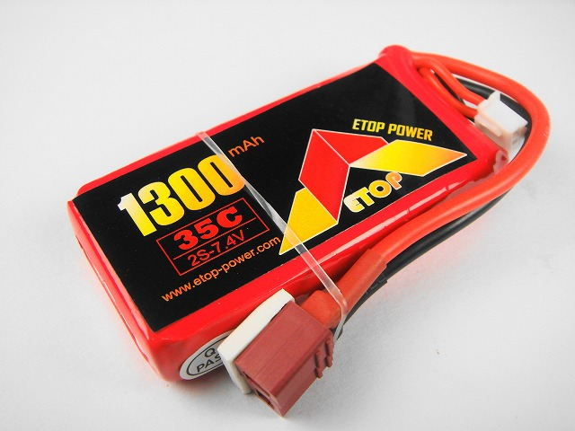 Lipo 2S-1300mAh(35C) E−Top Power