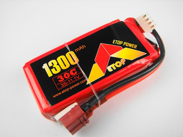 Lipo 3S-1300mAh(30C) E−Top Power