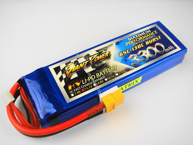Lipo 3Sー3300mAh(65C)−Giant Power