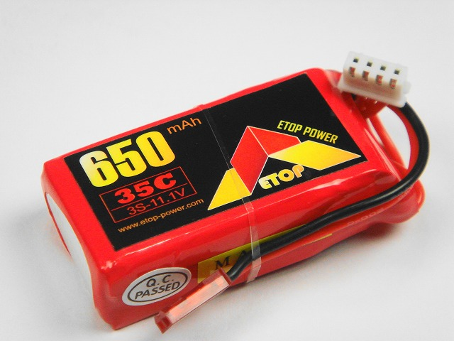 Lipo 3S-650mAh(35C) E−Top Power