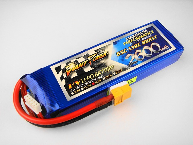 Lipo 4Sー2600mAh(65C)ーGiant- Power