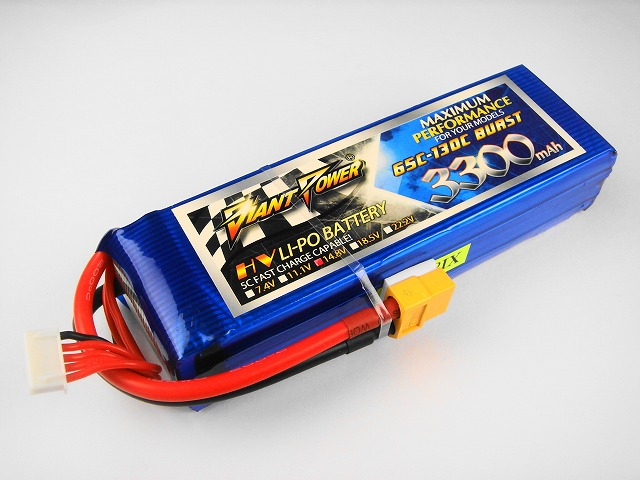 Lipo 4Sー3300mAh(65C)ーGiant- Power