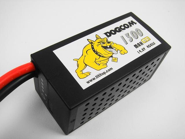 Lipo 4Sー1300mAh(95C) DOGCOM HC