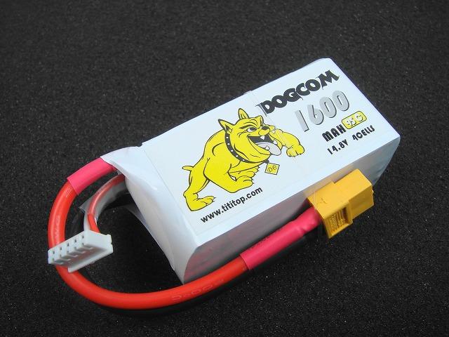 Lipo 4Sー1600mAh(95C) DOGCOM