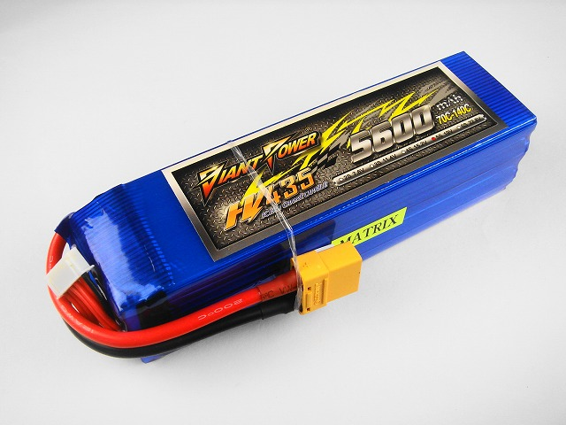 Hi-Voltage LiPo 5S(19.0V)-5600mAh(70C)XT90