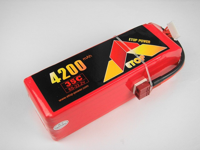 Lipo 6Sー4200mAh(35C) E−Top Power