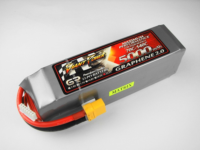 Lipo 6Sー5000mAh(70C) GRAPHEN 2.0 Giant Power