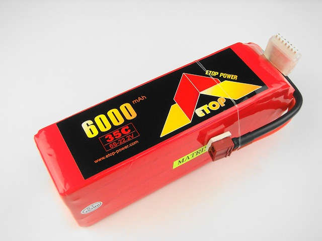 Lipo 6Sー6000mAh(35C) E−Top Power