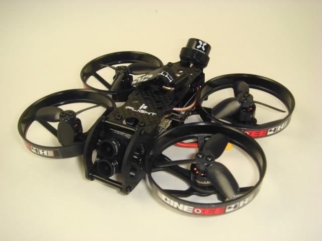 CineBee 4K Whoop-w/Caddx Tarsier 4K(iFlight)受信機搭載、飛行調整済み(送料無料)