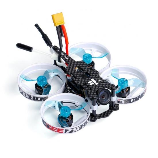 CineBee 75HD Whoop-w/Turtle V2受信機搭載、飛行調整済み(送料無料)