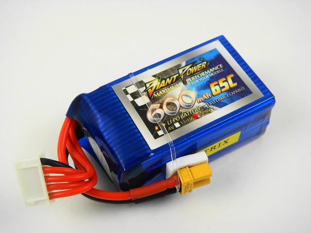 Lipo 4Sー600mAh(65C)ーGiant- Power