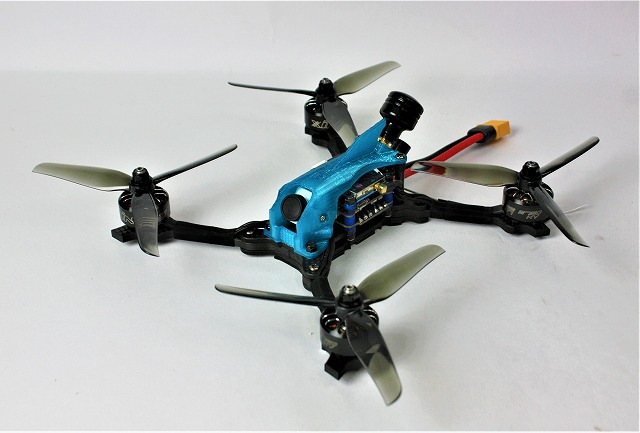 The RACE H5 H-Quad FUTABA R2000SBM搭載完成モデル (iFlight)