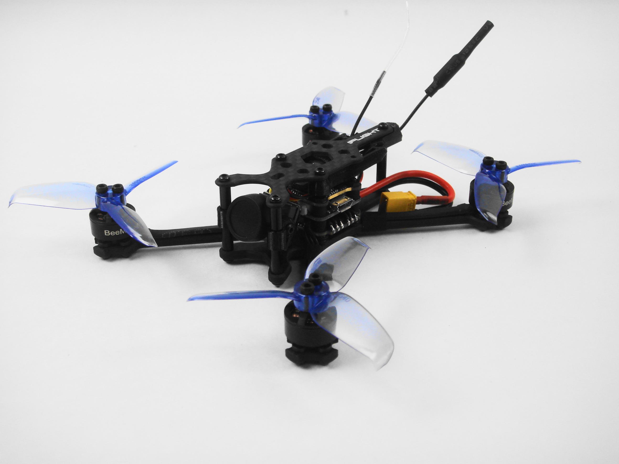 TurboBee 120RS Micro FPV Race Drone 4セル仕様(iFlight) 送信機付き、飛行調整済み(送料無料)