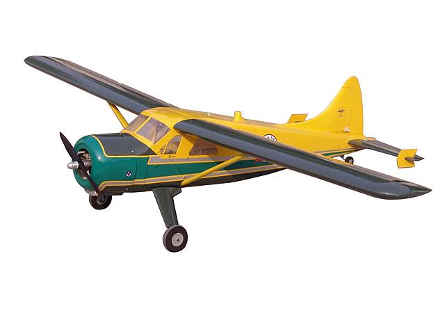 DH-2ビーバー(黄&緑)