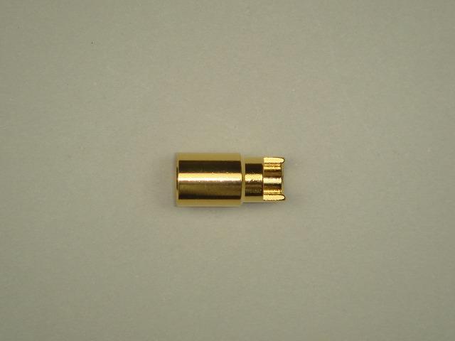 6mmゴールドコネクター(メス)