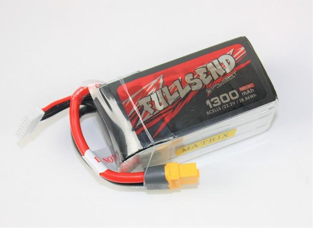 Lipo 6Sー1300mAh(120C) FULLSEND