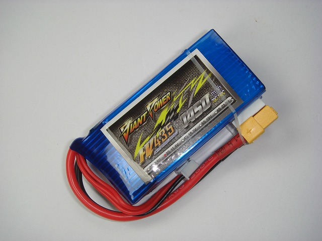 Hi-Voltage LiPo3S(11.4V)-1450mAh(70C)