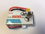 Lipo 3S-600mAh(50C) LDARC