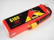 Lipo 4Sー5100mAh(35C)XT60付き E−Top Power